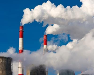 Kominy fabryki - zanieczyszczenia