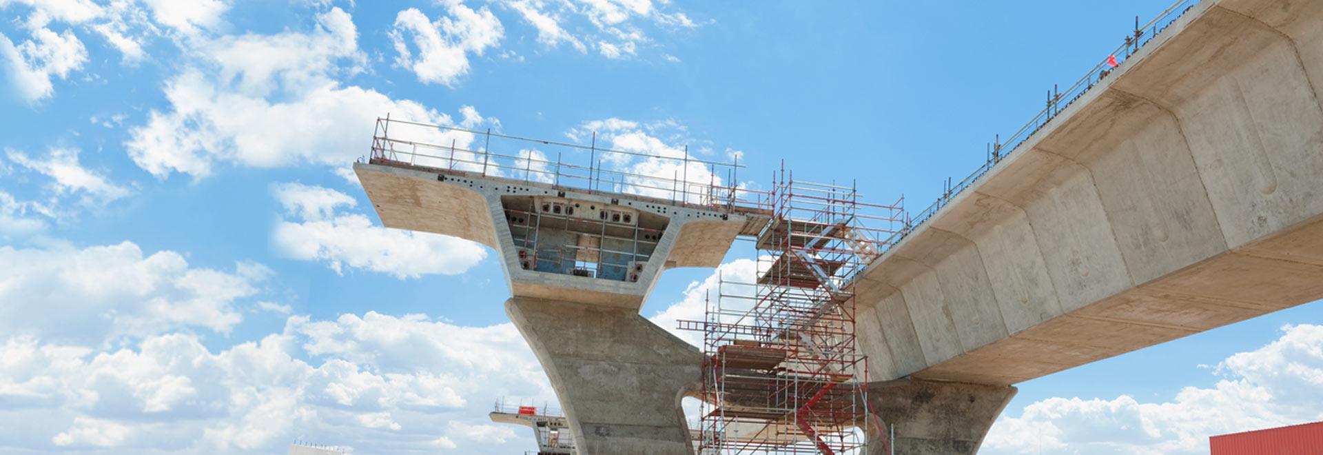 Most w budowie - element slidera